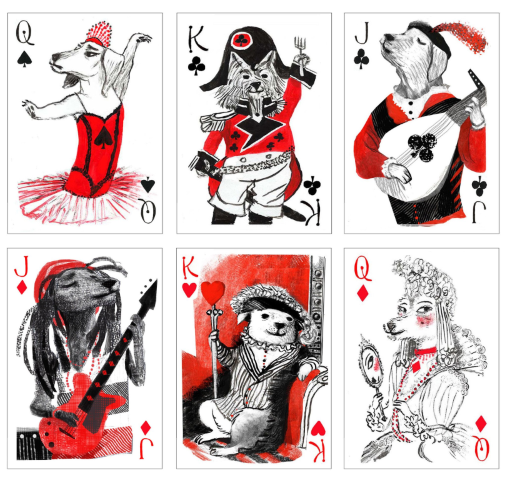 dog-playing-cards