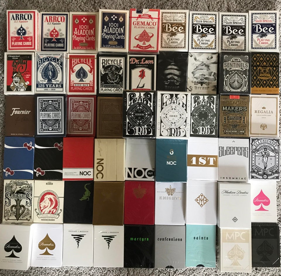 playing-card-collection